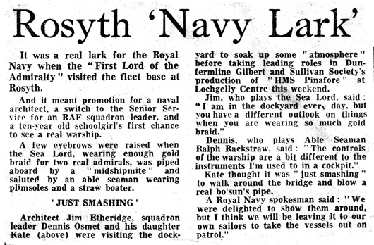 From the Evening News, 22 February 1977